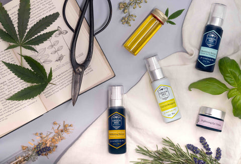 Green Bee Botanicals cannabis skincare and healing topicals