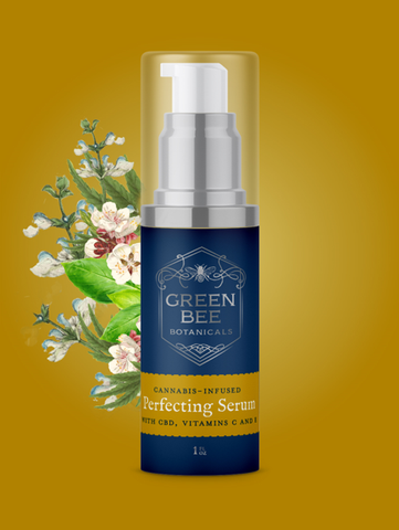 Green Bee Botanicals Perfecting Face Serum cannabis skincare