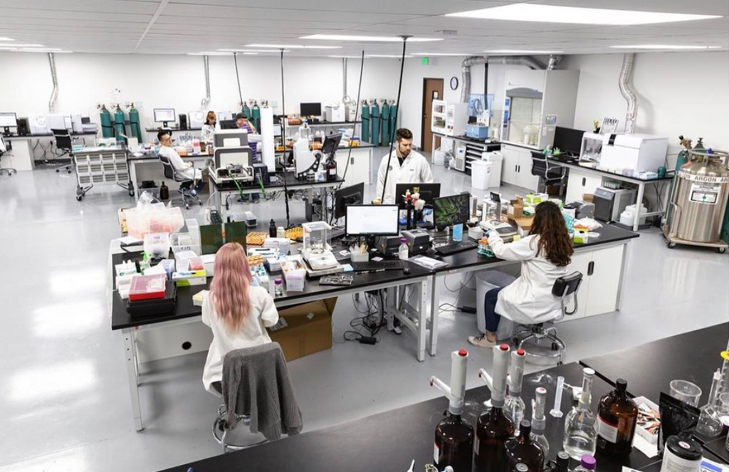 Cannalysis Lab California cannabis testing lab for Green Bee Botanicals