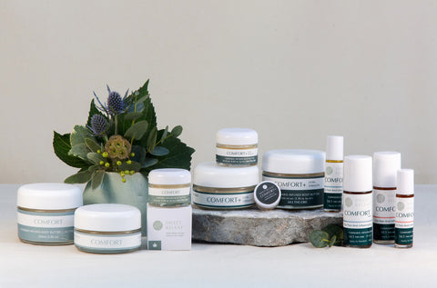 Sweet Releaf Pain Relieving Body Butters and Dry Oils