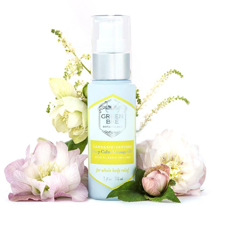 Deep Calm Massage and Body Oil