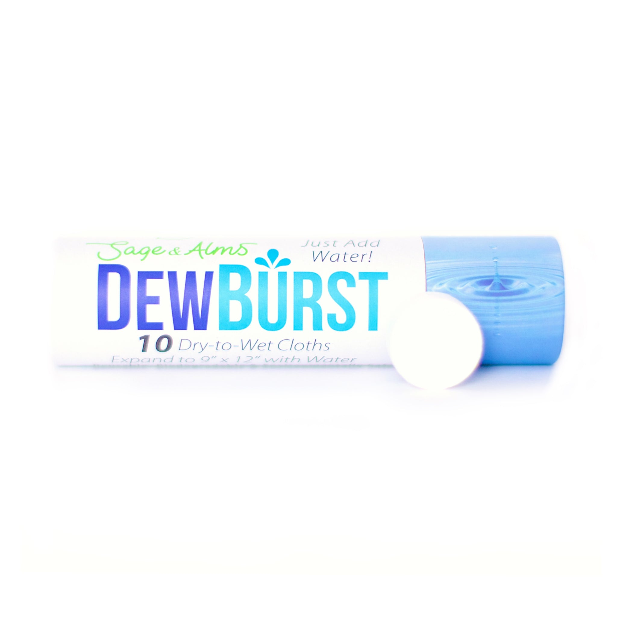 5 Tubes | 50 Cloths | $3.19 Per Tube | DewBurst