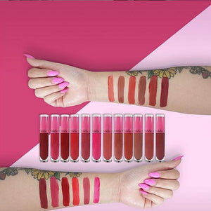 Matte Rose Lipsticks (6 Pack)