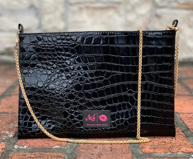 Midnight Gator Crossbody