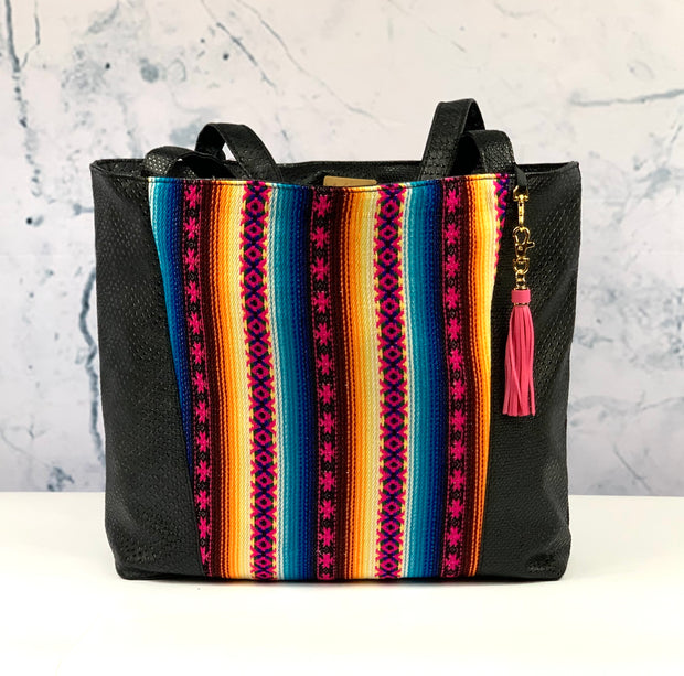 Black Cobra & Vida Blue Tote