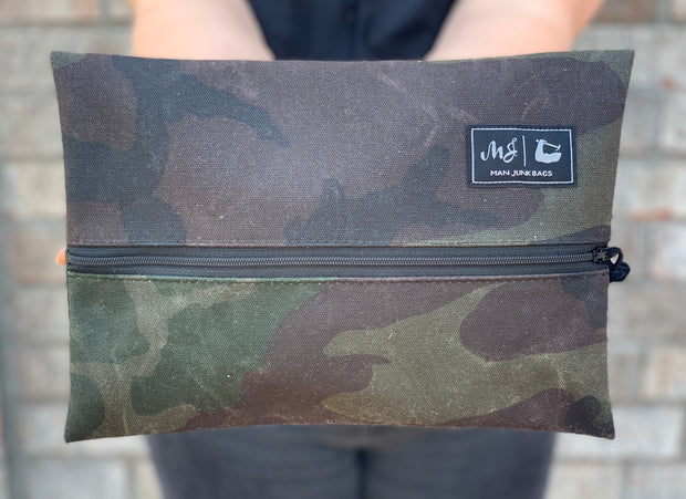 Waxed Canvas Camo