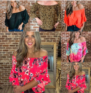 MJ Southern Belle Ruffle top