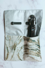 Ivory Marble Hot Tools Bag