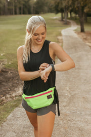 Lime Green Fanny Pack