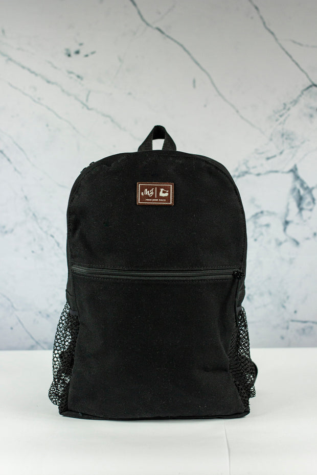 Black Canvas Backpack (Man Junk)