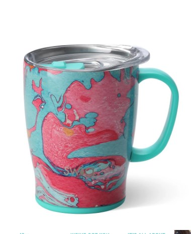 Cotton Candy Travel Mug (18oz)