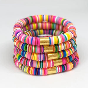 Pop of Color Bracelets