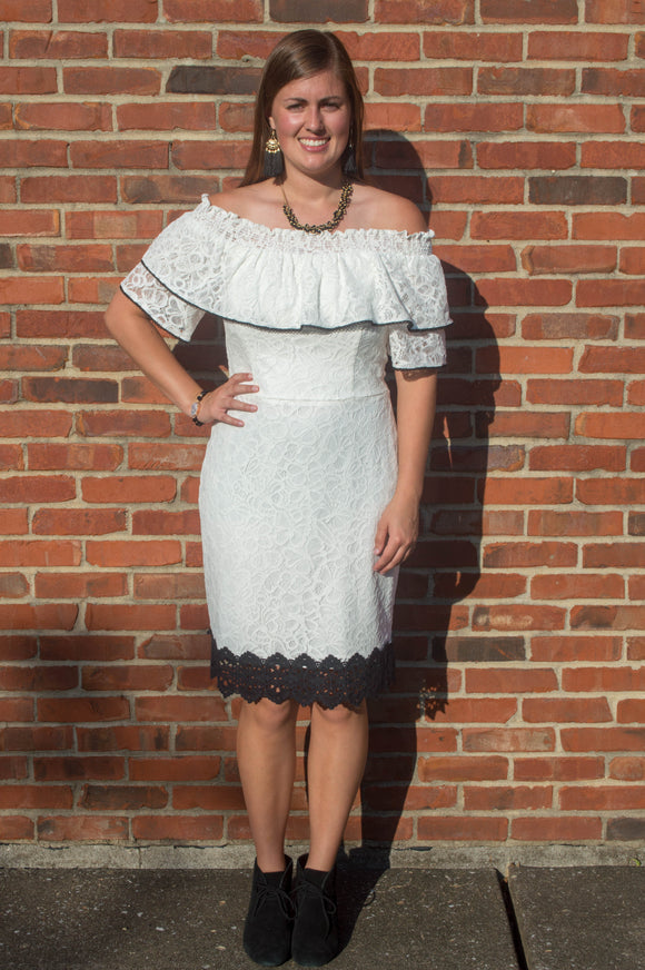 White Hilda Dress