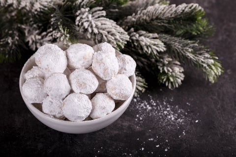 THC snowball cookies