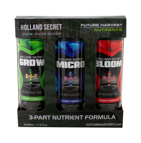 Holland Secret Tri-Pack (3 x 500mL) - Future Harvest