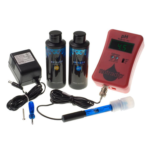 Nutradip Portable pH Meter (AC/DC) - Future Harvest