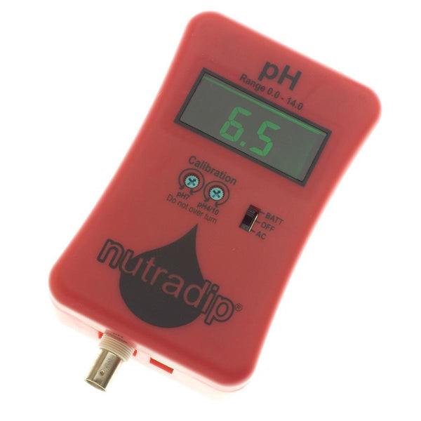 Nutradip Portable pH Meter (AC/DC), Electronics - Future Harvest
