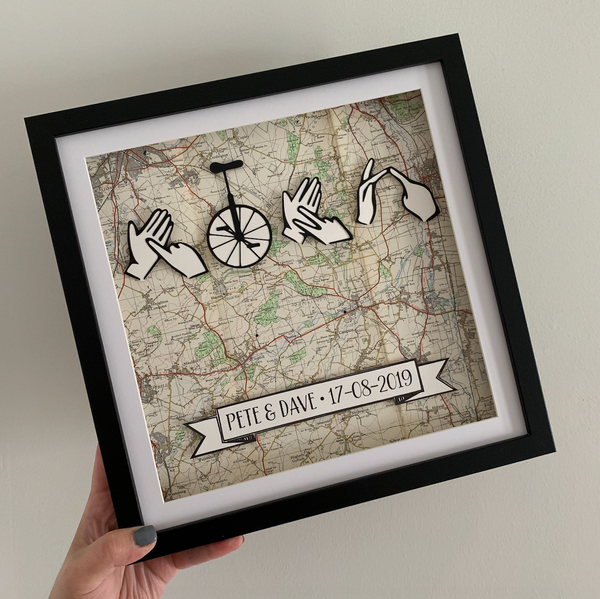 Bespoke Mapwork Gift Experience - On The Map