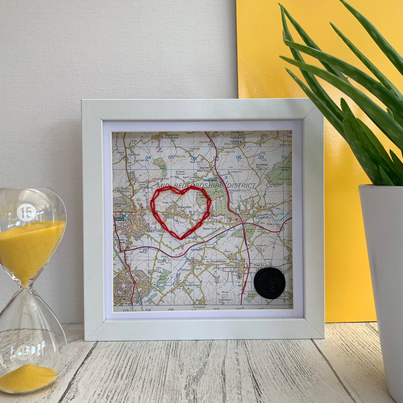 Love Stitched Mapwork - On The Map