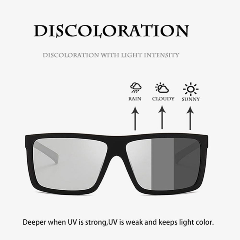 VOCALSKULL Alien Bone Conduction Photochromic Sunglasses for Myopia, Hyperopia and Astigmatism