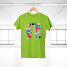 Load image into Gallery viewer, L&L Engagement T-Shirt Femme V-Neck - L&L since 2007