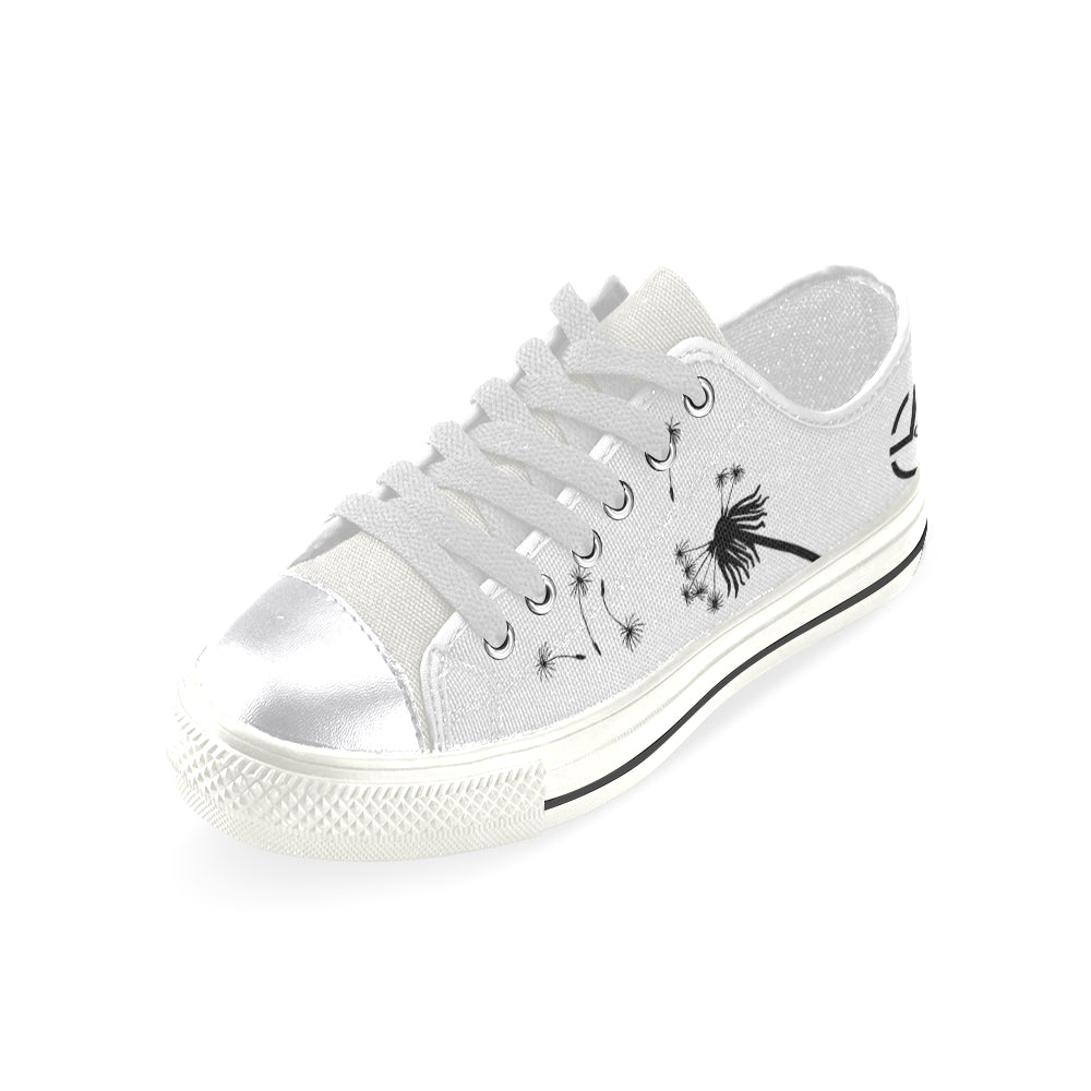 L&L Sneakers Woman Low Dandelion Women's Classic Canvas Shoes (Model 018) - L&L since 2007