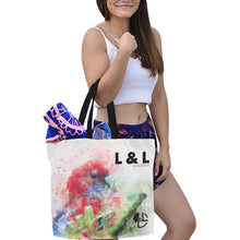 Load image into Gallery viewer, L&L Tote bag / Sac cabas Fourre-Tout pratique - L&L since 2007