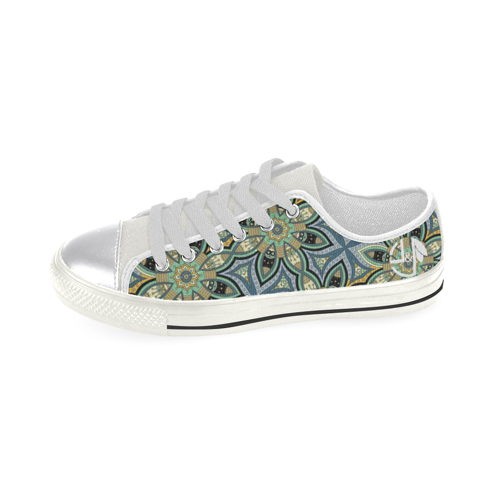 L&L Sneakers Woman Low Chloe Women's Classic Canvas Shoes (Model 018) - L&L since 2007