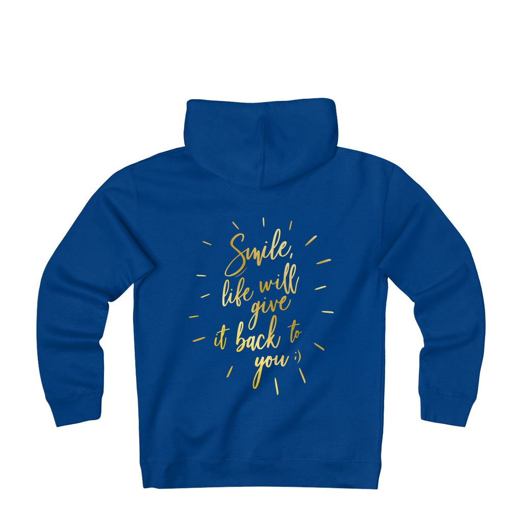 L&L Sweat Capuche Unisex #Smile life will give it back to you!;) - L&L since 2007
