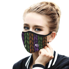 Load image into Gallery viewer, L&L Masque / Mouth Mask (2 filtres PM2.5 inclus & offerts)