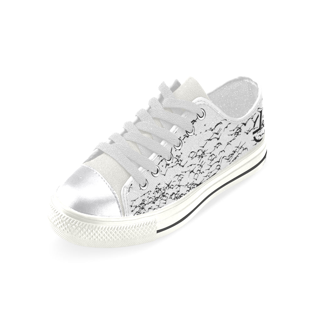 L&L Sneakers Woman Low Birds Women's Classic Canvas Shoes (Model 018) - L&L since 2007
