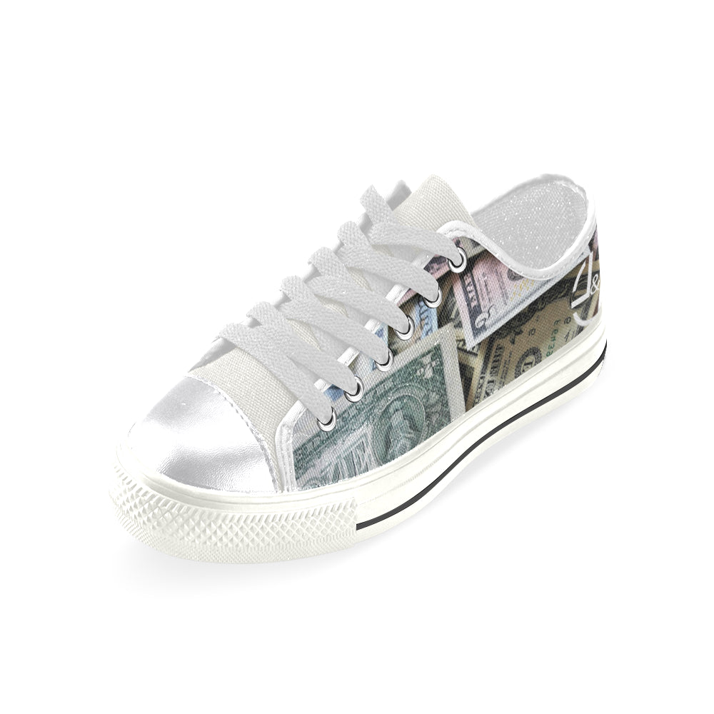 L&L Sneakers Woman Low Dollars Women's Classic Canvas Shoes (Model 018) - L&L since 2007