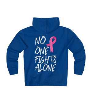 Capuche unisex #No one fights alone - L&L since 2007