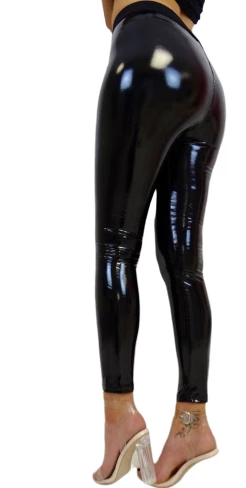 Sexy faux leather leggings - L&L since 2007