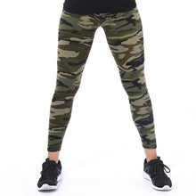Load image into Gallery viewer, Leggings motif camouflage mignon - L&L since 2007