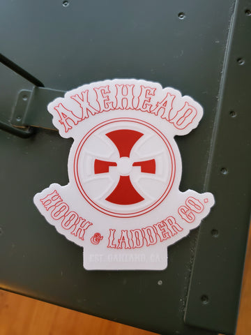Hook & Ladder Clear Decal