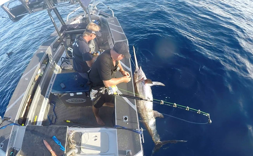 Using your Furuno to Catch Broadbill Swordfish