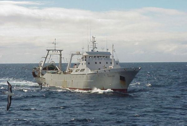 Squid Trawler Reaping Benefits of WASSP F3X