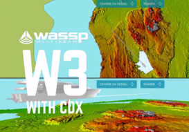 Superyacht Navigation using WASSP W3 with CDX Software