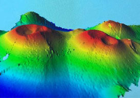 M/Y Umbra Uses WASSP W3 to find Underwater Volcanoes