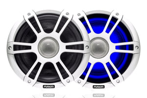White Sports Marine Speakers