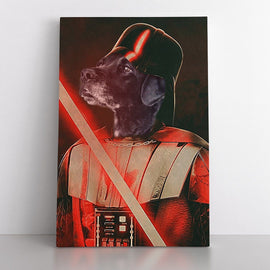 Your Pet as the Sith Lord Canvas Bailey's Blanket