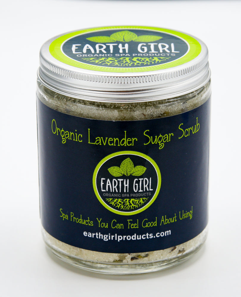 Organic Lavender Sugar Scrub --- Promotes Relaxation and Peaceful Sleep