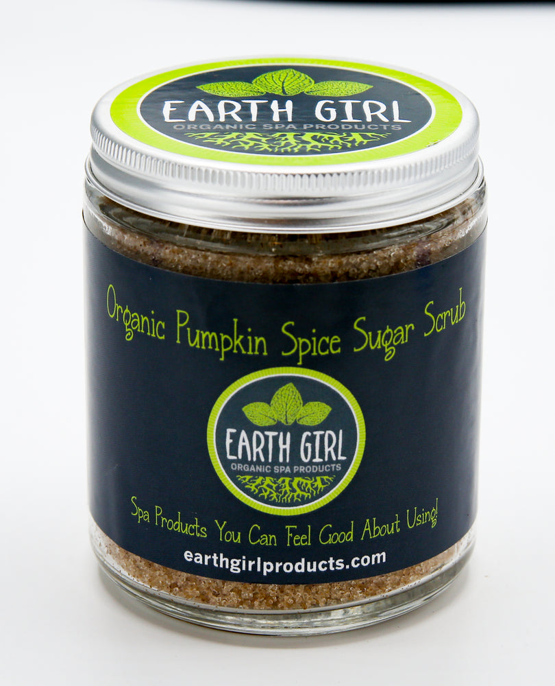 Organic Pumpkin Spice Sugar Scrub --- Spice Up Your Life!
