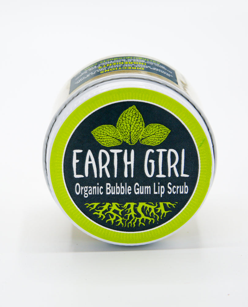 Organic Bubble Gum Lip Scrub --- Better Than Candy