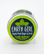 Organic Peach Ginger Lip Scrub --- The Ultimate Lip Elixir