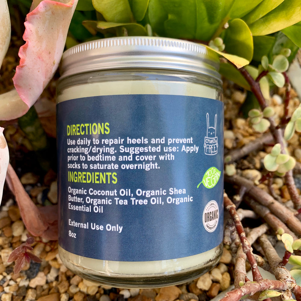 Organic Cracked Heel Cream --- Your Answer to Dry Skin Woes