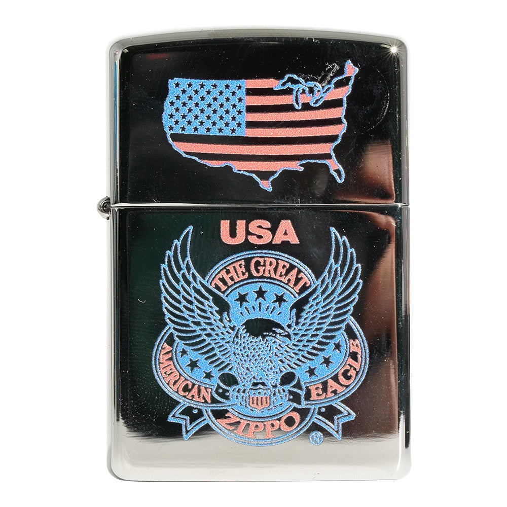 Zippo 250 The Great AM Eagle WM