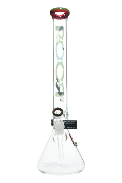 ROOR Red Spotted Green Lip / Camo Label 18""
