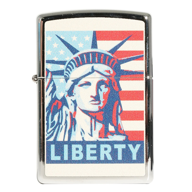 Zippo 250 Statue Of Libery and Flag